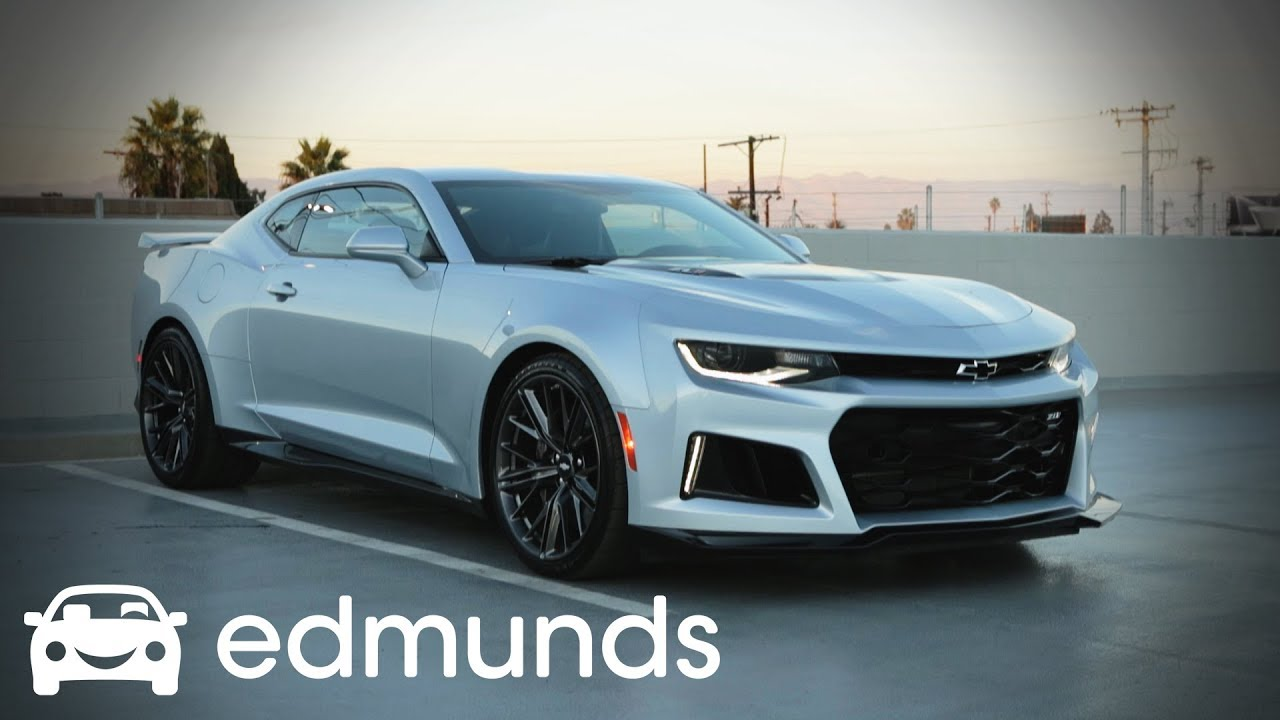 2018 Chevrolet Camaro Zl1 Model Review Edmunds