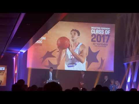 Toni Kukoč - govor Ženeva - FIBA Kuća slavnih