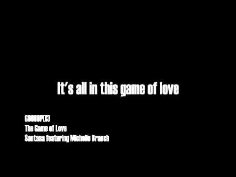 The Game Of Love - Santana featuring Michelle Branch (Shaman) [Sony Music Entertainment (C)]