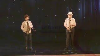 �������� ���� Дуэт  саксофонистов  «Переполох» ������