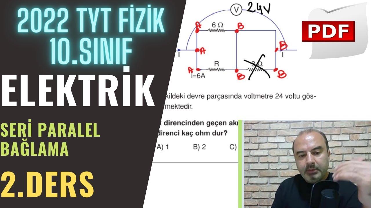 Elektrik | 2.Ders (10. Sınıf ve TYT)