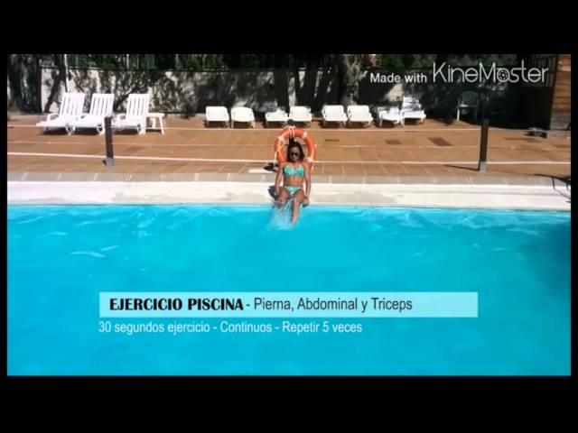 1aeaaec18 Algunos ejercicios para hacer en la piscina o en la playa