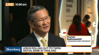 Bangkok Bank's President on U.S.-China Trade War, Thailand Economy, Digital Banking