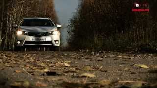 Тест-драйв Toyota Corolla 2013