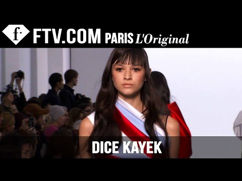 Dice Kayek Show Spring/Summer 2015 | Paris Couture Fashion Week | FashionTV