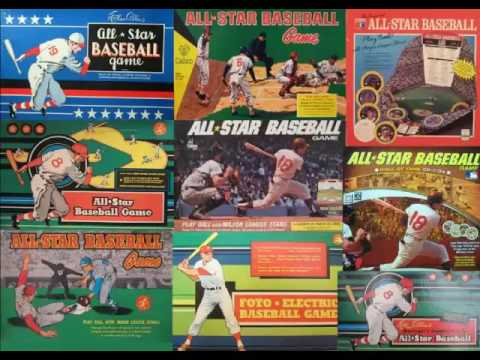 All star baseball board game