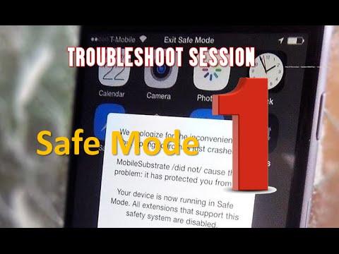 Troubleshoot Session #1: How to Fix Random Safe Mode/Restart -- iOS Jailbreak