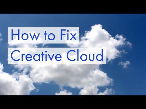How to Fix Creative Cloud