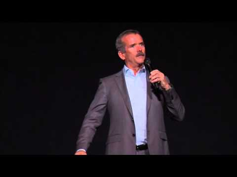 Courage and excellence is at the core of exploring the universe | Colonel Chris Hadfield