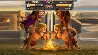 Live clan war|punkz vs some arab engineer clan|clash of clans war