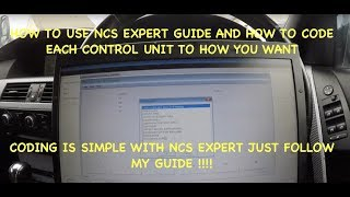 How To Use NCS Expert To Code Any Car Full Walkthrough And Detailed Guide