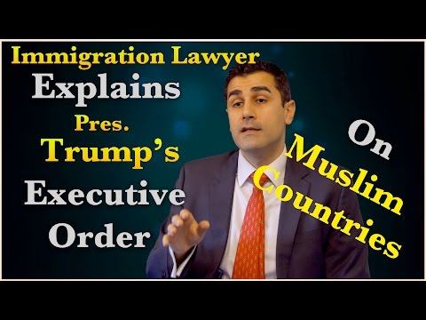 Trump's Executive Order on Muslim Countries Explained