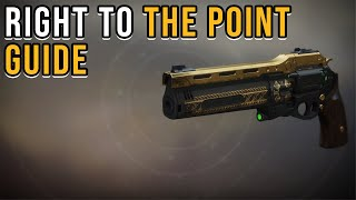 HOW TO GET THE LAST WORD IN DESTINY 2 | EASIEST WAY*