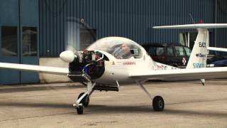 Airplane powered by serial-hybrid electric drive
