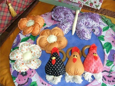 Изготовление кукол из ткани