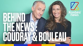 Anne-Claire Coudray et Gilles Bouleau - Behind the News