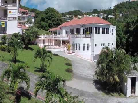 We stayed at Hotel Alexandrina in St.Vincent Caribbean