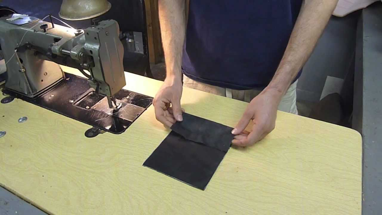sewing leather with ease auto upholstery pro tip youtube. Black Bedroom Furniture Sets. Home Design Ideas