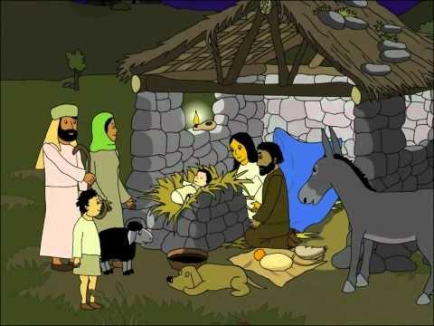 La Bible des Enfants: Jésus est né