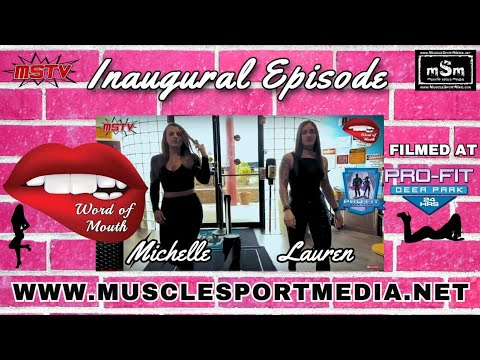 Word of Mouth Inaugural Episode - Tattooed Fit Chicks Talk Show