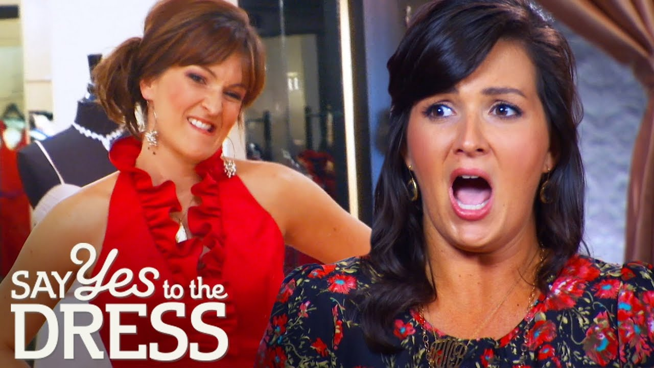 Download Bridesmaids Mock Bride's Preppy Dress Choices | Say Yes to the Dress: Bridesmaids