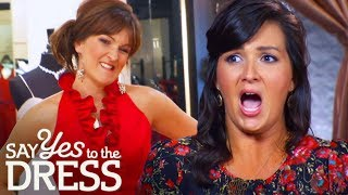 Bridesmaids Mock Bride's Preppy Dress Choices | Say Yes to the Dress: Bridesmaids