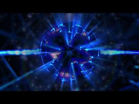 4K BLUE Motion Background - Sphere Cells #AAVFX #VJLOOP #Party