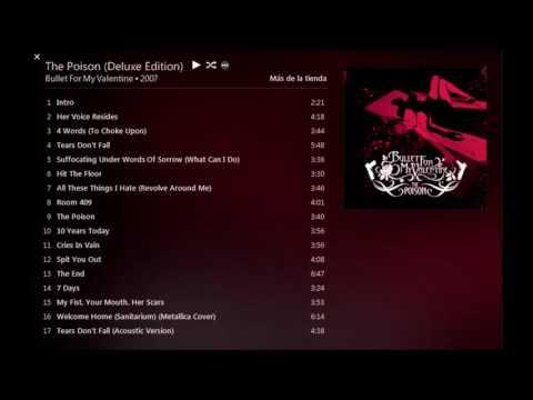 Bullet For My Valentine  The Poison [Full Album]