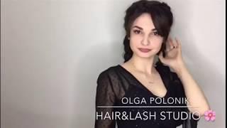 Наращивание волос для брюнеток (Студия красоты Ольги Полоник)