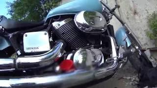 видео Обслуживание мотоцикла Honda Steed 400 / 600