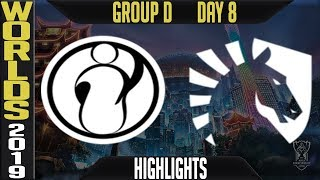 IG vs TL Highlights Game 2 | S9 Worlds 2019 Group D Day 8 | Invictus Gaming vs Team Liquid