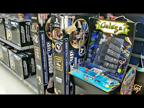 Retro Arcade Machines Now Available At Walmart
