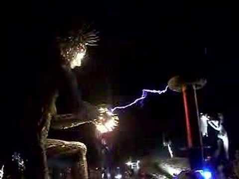 Burning Man 2007 | Tesla Coil @ Crude Awakenings