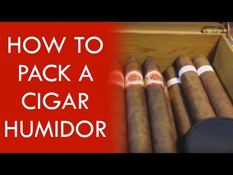 How to Pack a Cigar Humidor