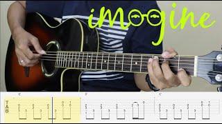 IMAGINE - John Lennon - Fingerstyle Guitar Tutorial TAB
