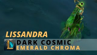 Dark Cosmic Lissandra Emerald Chroma - League Of Legends