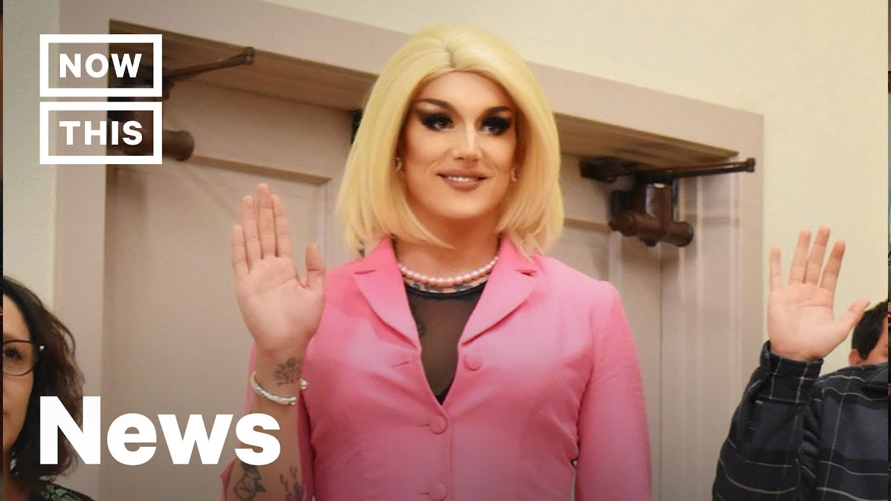 Meet the First #FagNation Drag Queen Elected to Office in the U.S.