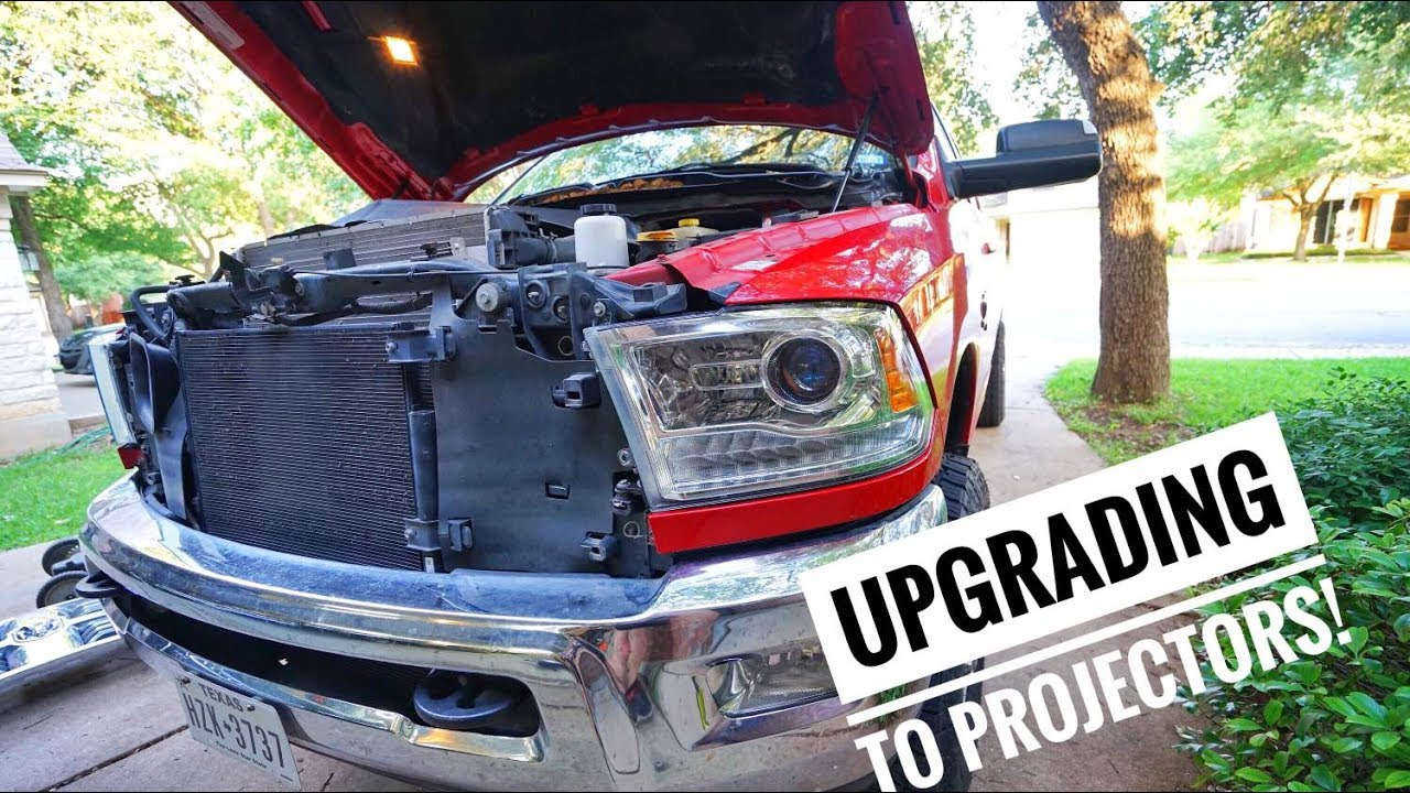 How To Upgrade 4th Gen Ram Headlights Youtube 2010 Dodge 2500 Fuse For Head Lights Wiring
