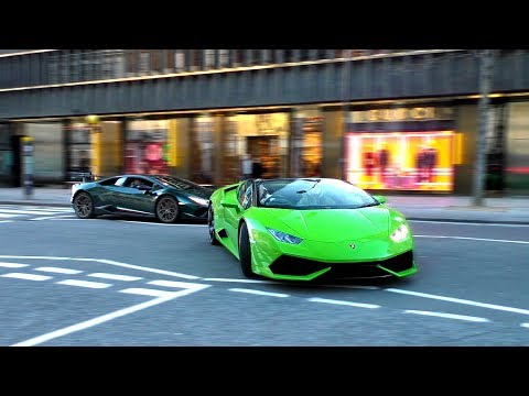 Supercars in London February 2018 Part 3