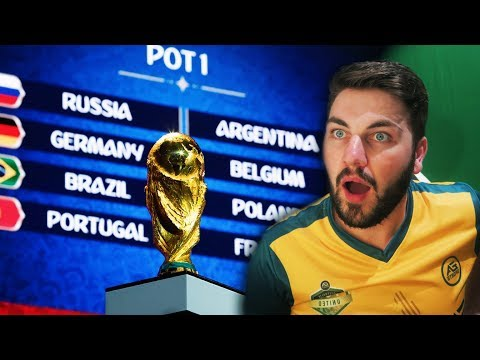 REACTING TO THE 2018 WORLD CUP GROUP DRAW!!!