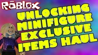 MINIFIGURE CODE HAUL | Roblox MiniFigure Series 1 All 24 Codes Unlocking