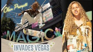 Olan Prenatt Invades The MAGIC Trade Show In Las Vegas