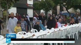 مبادرات الإفطار الجماعي في الجزائر
