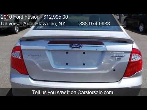 2010 Ford Fusion Sport AWD 4dr Sedan for sale in Long Island  YouTube