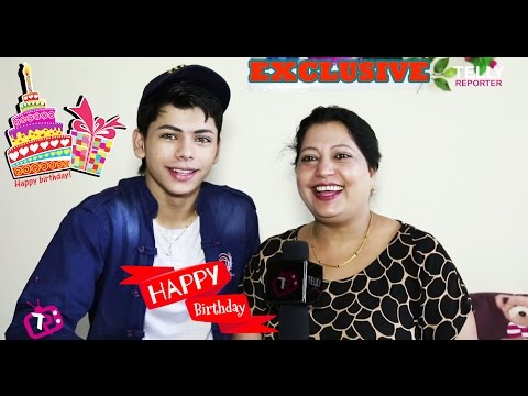 Siddharth Nigam Celebrates His Birthday With Telly Reporter   Exclusive