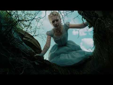 Alice In Wonderland   Clip Alice Falls Into A Rabbit Hole 2010   HD