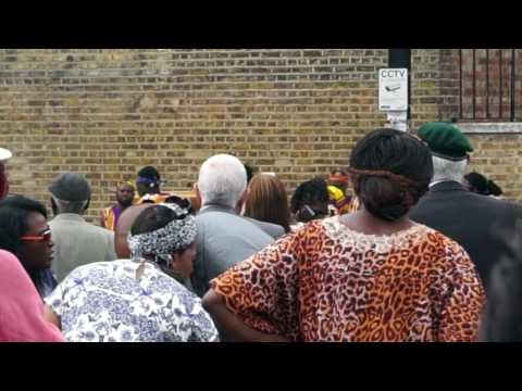 The Unveiling Ceremony for The African & Caribbean War Memorial in Windrush Square