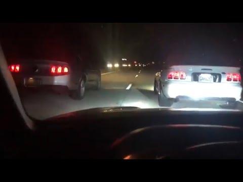 2012 Ford Mustang Gt vs 1995 Ford Mustang Cobra
