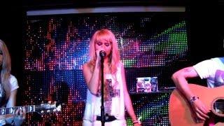 """Анна Руднева feat show MONICA - Океаны (Live в клубе """"Face"""" 28.04.13)"""