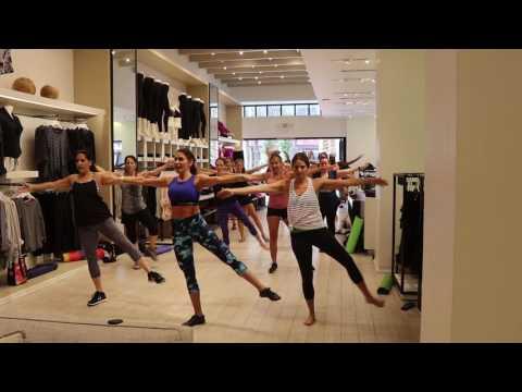 Ballet Barre Calvin Klein August 27, 2016